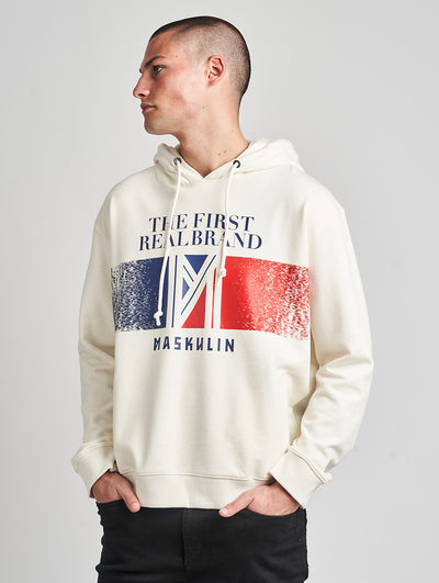 Maskulin RB Hoody White - Maskulin.de Shop