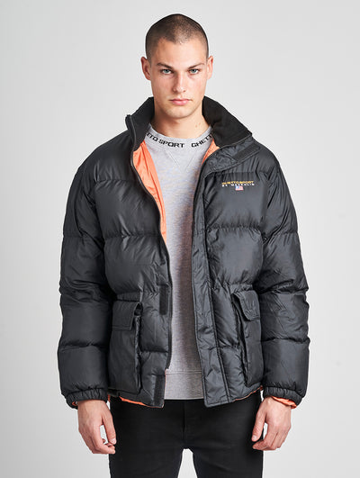 Maskulin GS Puff Puffjacket Black - Maskulin.de Shop