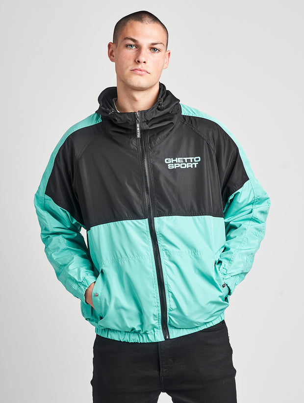 Maskulin GS Windbreaker Black Mint - Maskulin.de Shop