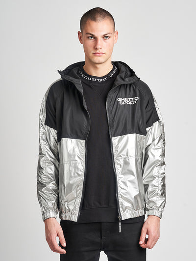 Maskulin GS Windbreaker Black Silvern - Maskulin.de Shop