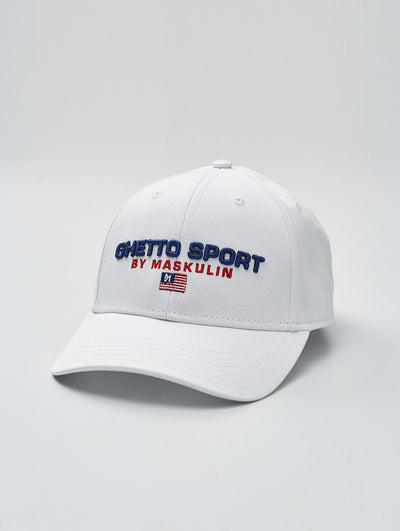 Maskulin GSport Dad fit CAP White - Maskulin.de Shop