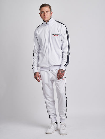 Maskulin Oh Carolina Tracksuit White - Maskulin.de Shop
