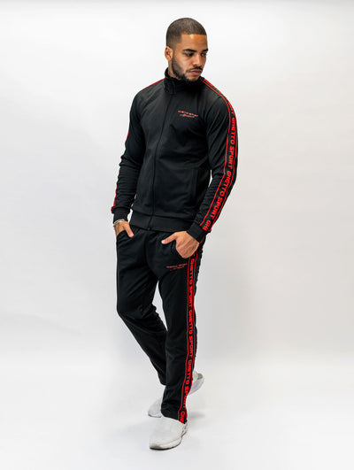 Maskulin Ghetto Sport Tracksuit Black - Maskulin.de Shop