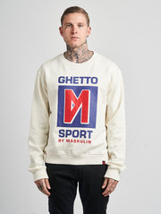 Maskulin GS M Crewneck White - Maskulin.de Shop
