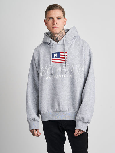 Maskulin Karl Hoody Grey - Maskulin.de Shop