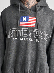 Maskulin Karl Hoody Anthracite - Maskulin.de Shop