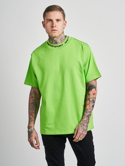 Maskulin GS Turtle Tee Neon Green - Maskulin.de Shop