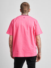 Maskulin GS Turtle Tee Neon Pink - Maskulin.de Shop