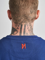 Maskulin Real Brand T-Shirt Navy - Maskulin.de Shop