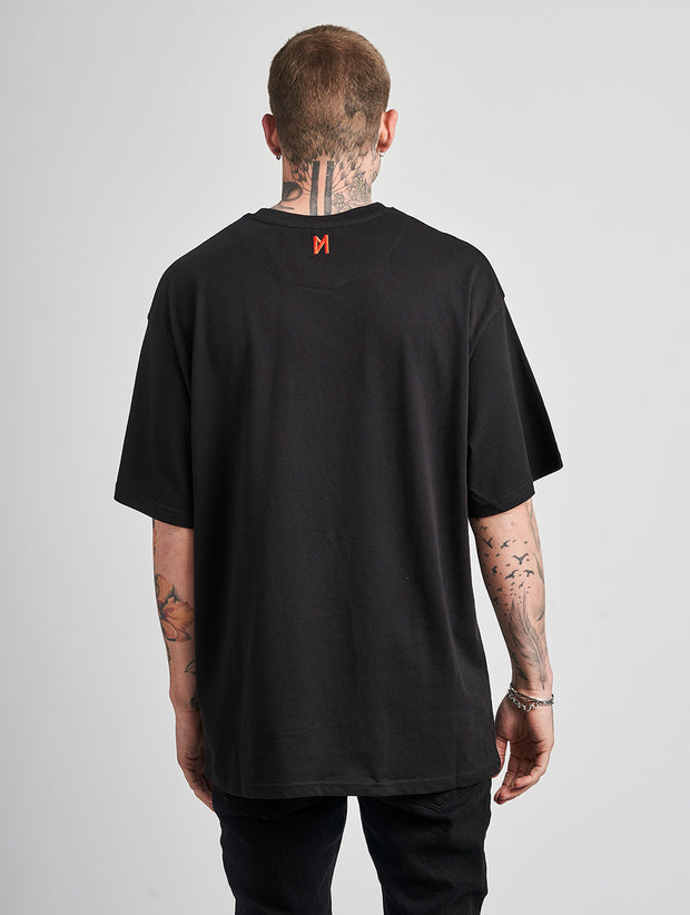 Maskulin RB T-Shirt Black - Maskulin.de Shop
