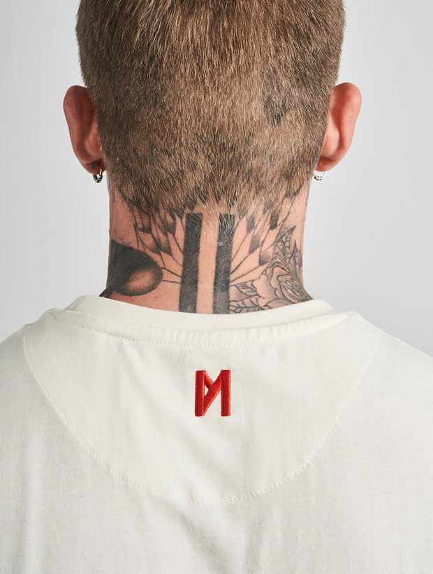 Maskulin RB Maskulin T-Shirt White - Maskulin.de Shop