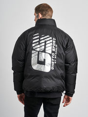 Maskulin Ghettodown Jacket Black Silvern - Maskulin.de Shop
