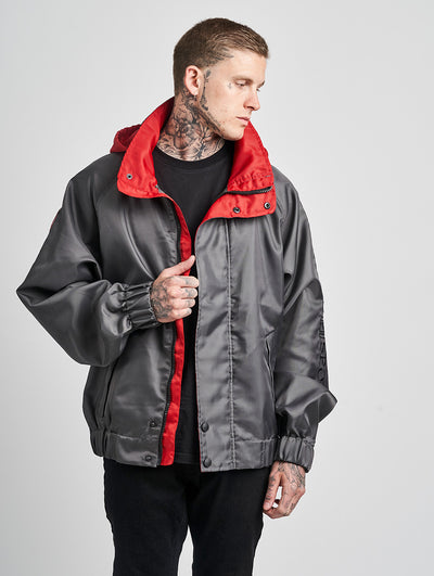 Maskulin GS Windbreaker Grey - Maskulin.de Shop