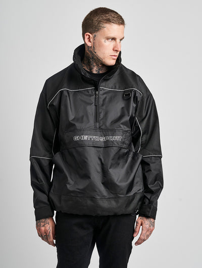 Maskulin South City Windbreaker Black - Maskulin.de Shop