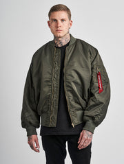 Maskulin GS Bomber Jacket Olive - Maskulin.de Shop