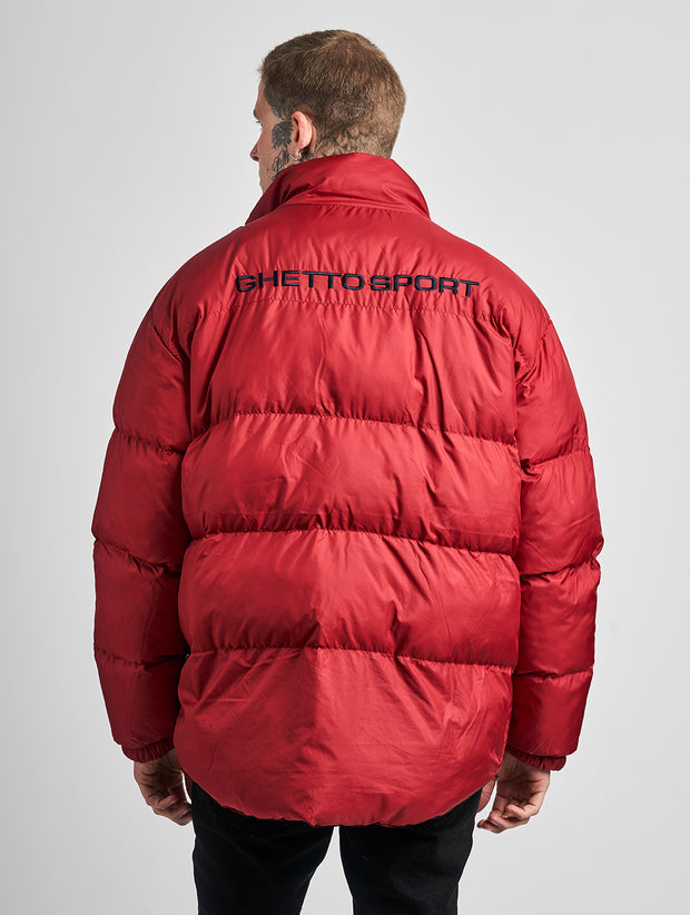Maskulin GS Puff Puffjacket Red - Maskulin.de Shop