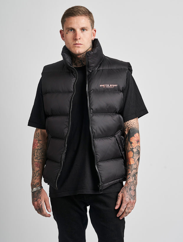 Maskulin GS Vest Black - Maskulin.de Shop