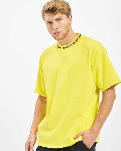 Maskulin GS Turtle Tee Neon Yellow - Maskulin.de Shop