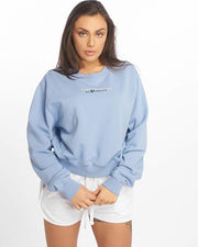 Maskulin Wifey Ghetto Sport Crewneck Blue - Maskulin.de Shop