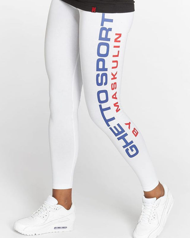 Maskulin GS Leggings White - Maskulin.de Shop