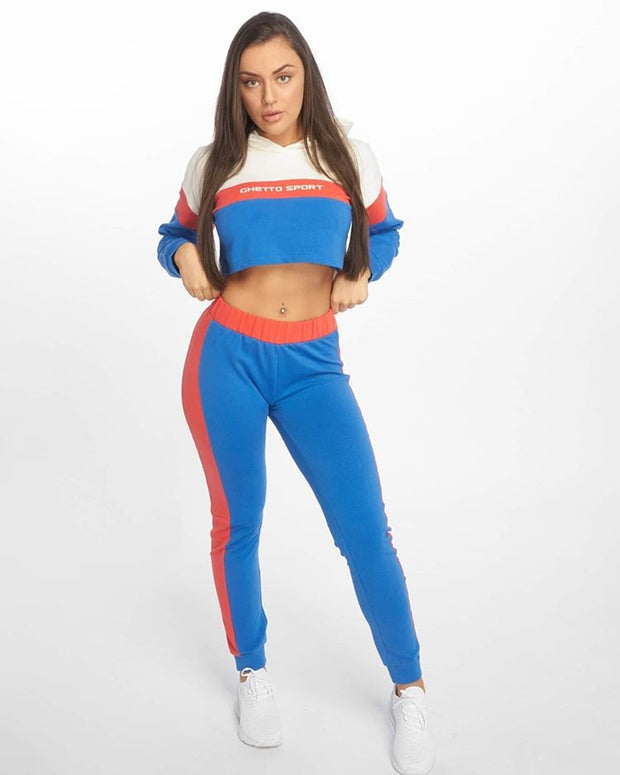 Maskulin Col Block Wifey Ghetto Sport Set Blue - Maskulin.de Shop