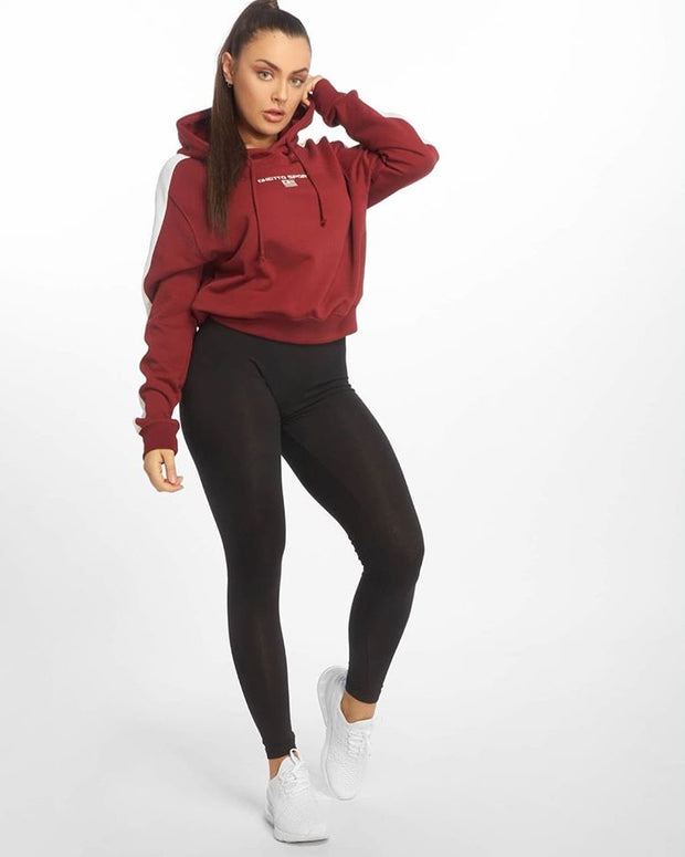 Maskulin L GS Hoody Burgundy - Maskulin.de Shop