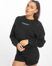 Maskulin Wifey Ghetto Sport Crewneck Black - Maskulin.de Shop