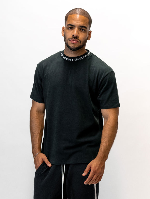 Maskulin GS Cleancut-Tee Black - Maskulin.de Shop