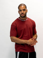 Maskulin GS Cleancut-Tee Dark Red - Maskulin.de Shop