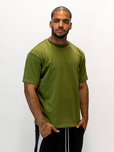 Maskulin GS Cleancut-Tee Olive - Maskulin.de Shop