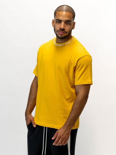 Maskulin GS Cleancut-Tee Dark Yellow