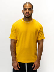 Maskulin GS Cleancut-Tee Dark Yellow - Maskulin.de Shop