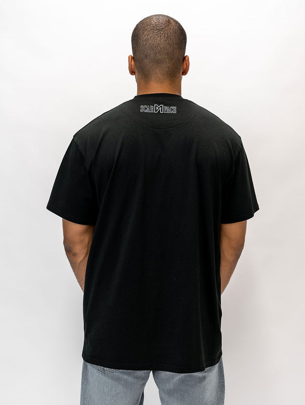 Maskulin Elvira T-Shirt Black - Maskulin.de Shop