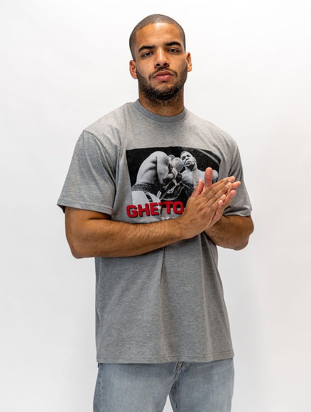 Maskulin Heavyweight Champ of the 90s T-Shirt Grey - Maskulin.de Shop