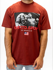 Maskulin Heavyweight Champ of the 90s T-Shirt Red - Maskulin.de Shop