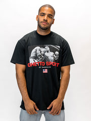 Maskulin Heavyweight Champ of the 90s T-Shirt Black - Maskulin.de Shop