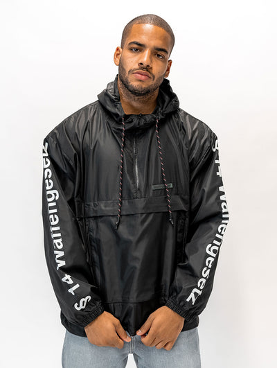 Maskulin Legal Notice Teflon Windbreaker Black - Maskulin.de Shop
