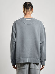 Cutler Crewneck Washed Black - Maskulin.de Shop