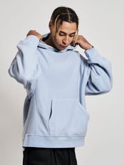 Wheeler Hoodie Washed Baby Blue Skies - Maskulin.de Shop