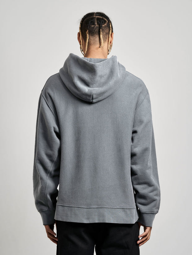 Wheeler Hoodie Washed Black - Maskulin.de Shop