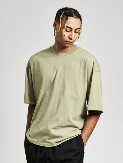 Oversized Cena T-Shirt Washed Leave - Maskulin.de Shop
