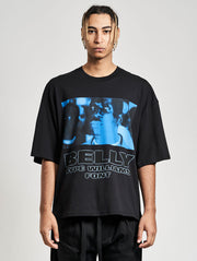 Belly Font Oversized T-Shirt Asphalt - Maskulin.de Shop