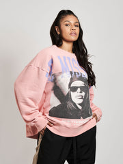 We Miss You Crewneck Washed Strawberry - Maskulin.de Shop