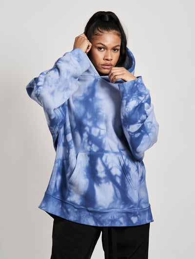 Wheeler Hoodie Washed Batic Blue Skies - Maskulin.de Shop
