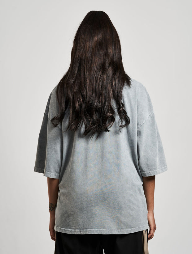 Oversized Cena T-Shirt Washed Ash - Maskulin.de Shop