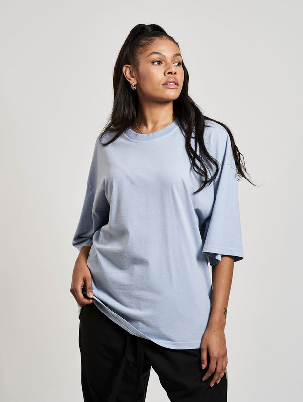 Oversized Cena T-Shirt Washed Baby Blue Skies - Maskulin.de Shop