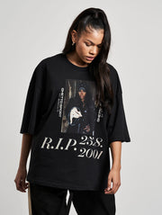 Rest in Peace Oversized T-Shirt Asphalt - Maskulin.de Shop