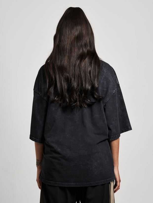 Born Guilty Oversize T-Shirt Washed Black - Maskulin.de Shop
