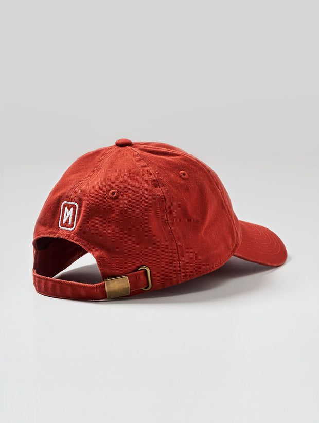 Maskulin 9MM SEMI AUTO Sixpanel Cap Brick Red - Maskulin.de Shop
