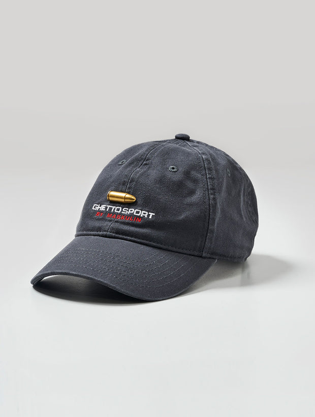 Maskulin 9MM SEMI AUTO Sixpanel Cap Dark Grey - Maskulin.de Shop